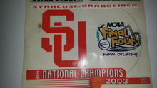 S U National Championship Window Decal 2003 (00631)  size: 6 by 4.25 inch