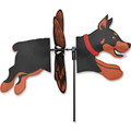 "Dog (Doberman) 18"", Petite Wind Spinner (24936)"
