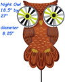 "25375  Night Owl 27"" : Bird Spinners (25375)"
