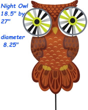 "25375  Night Owl 27"" : Bird Spinners (25375)"