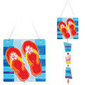 Flip-Flops: Glass Sun Catchers