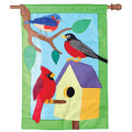 Birdhouse Buddies  : Applique