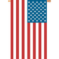 USA Flag  : Jumbo House Applique