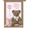 Valentines Bear :     House Brilliance