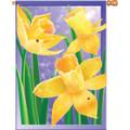 Dewdrop Daffodils :     House Brilliance