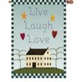 Live Laugh Love :     House Brilliance