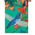 Blue Ballard Hummingbird : Illuminated Flags