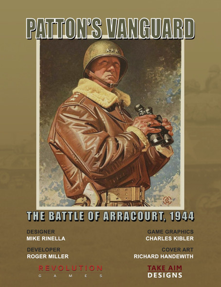 Patton's Vanguard  Cover