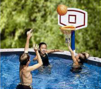 Jammin Basketball - Above Ground Pool #1822