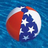 Americana Beach Ball #953