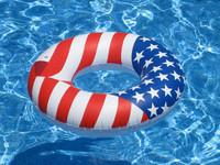"Americana Ring 36""  #2275"