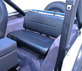 SEAT REAR STD BLK CJ-YJ