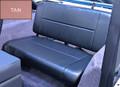 SEAT REAR STD TAN CJ-YJ