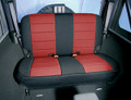 Neoprene Seat Cover Rear Red