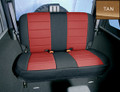 Neoprene Seat Cover Rear Tan 47324