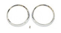 Headlight Bezel Pair, 72-86 CJ 62-66 FSJ