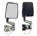 LED MIRROR PAIR CHROME