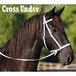2 in 1 BITLESS BRIDLE made from BETA BIOTHANE (Solid Colored)