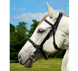 ENGLISH BRIDLE made from BETA BIOTHANE (with BLING)