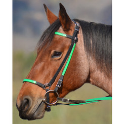 ICELANDIC BRIDLE made from BETA BIOTHANE (ANY 2 COLOR COMBO)