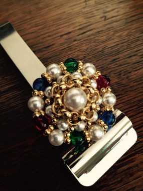 Costume Jewelry Gemstones in a gorgeous setting