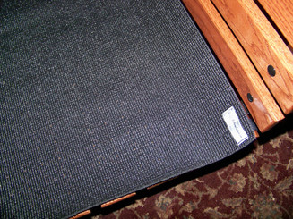 Floor Mat for Miniature Driving Cart
