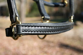 Leather  Mini Halter