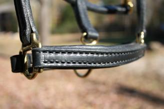 Leather  Mini Halter