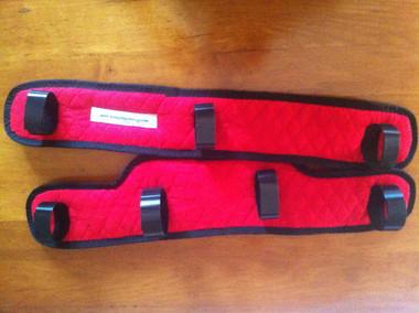 Mini HorseFeathers Mini Euro Driving Harness Pad Set. Designed and Manufactured at Mini HorseFeathers
