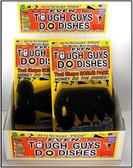 "Jetz Scrubz PADZ ""Even Tough Guys Do Dishes"""