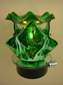WAVE GREEN NIGHT LIGHT OIL BURNER MM