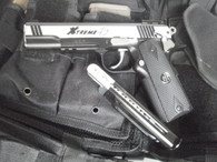 G&G XTREME 45 Co2 gas Blowback Pistol in Silver & Black