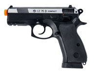 CZ 75D COMPACT dual tone Gas Blow Back CO2 Pistol by ASG