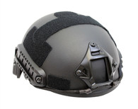 MH Style Airsoft Tactical Helmet with Rails/NVG Mount in black