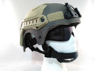 IBH Style Airsoft Tactical Helmet with Rails/NVG Mount Navy Seal