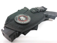 """No Mercy Kinetic Working Group 2 1/4"""" Velcro Backed PVC Patch"""