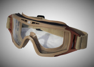 Tactical Crusader ProTac Goggle Tan