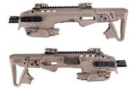 CAA RONI Airsoft Carbine P226 Pistol Converter Kit in DE