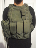 Tactical Quick Release Chest Rig in OD