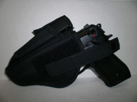 Ambidextrous Holster With Mag Pouch Blk