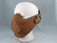 TMC Neoprene Hard Foam Half Mask in Tan