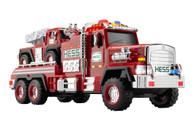 NEW 2015 Hess Fire Truck And Ladder Rescue Limited Quantity