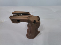 Magwell Ergo Vertical Grip with Pressure Pads Tan