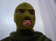 EA Gear 3 hole Balaclava mask OD Green
