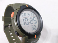 Military Style LED Watch Green