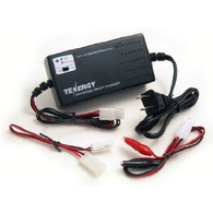 TENERGY Universal Smart Charger for 6V-12V 1A/2A NiMH/NiCd Battery