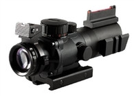 AIM SPORTS 4X32 TRI- ILLUMINATED W/FIBER OPTIC SIGHT