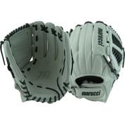 """Marucci Founders 12.5"""" Spiral Web Fastpitch Glove (Velcro) - MFGSB1250SV-GY/BK-RG"""