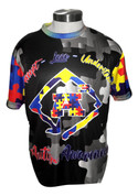 A3 Autism Awareness Jersey- Short Sleeve