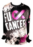 A3 FU** Cancer Jersey- Long Sleeve.